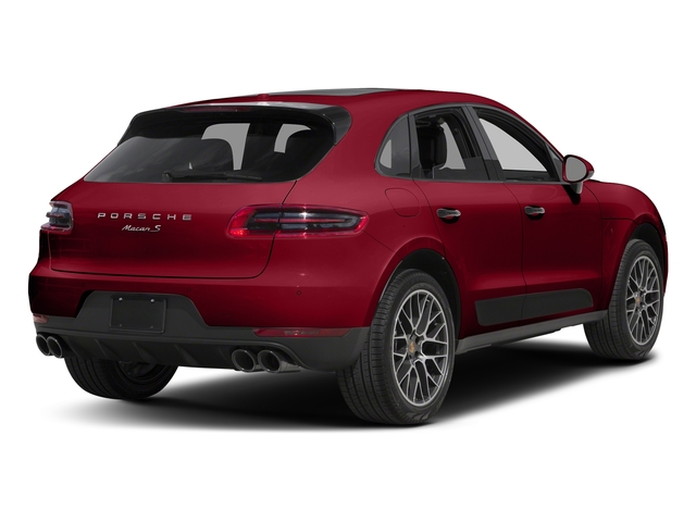 Carmine Red 2018 Porsche Macan Pictures Macan GTS AWD photos rear view