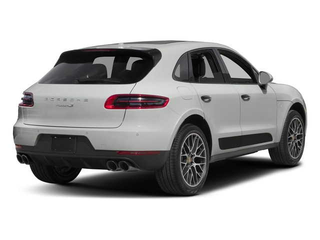 White 2018 Porsche Macan Pictures Macan Turbo AWD w/Performance Pkg photos rear view