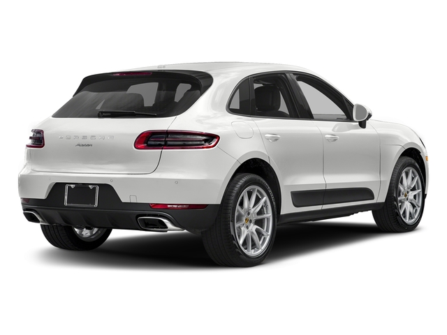 Carrara White Metallic 2018 Porsche Macan Pictures Macan AWD photos rear view