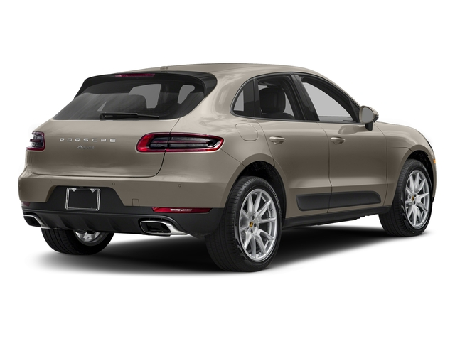 Palladium Metallic 2018 Porsche Macan Pictures Macan AWD photos rear view