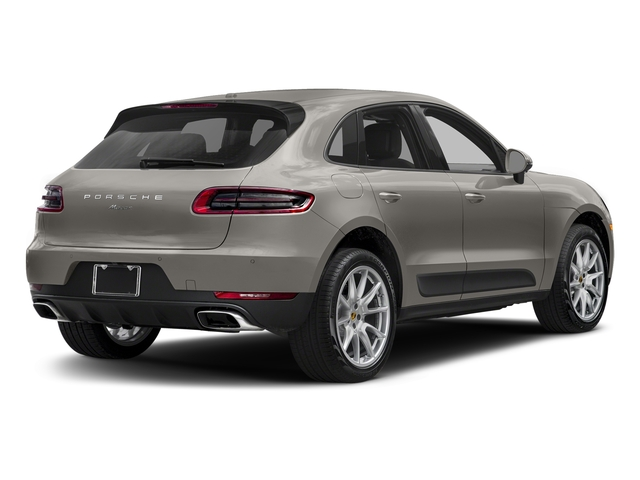Agate Grey Metallic 2018 Porsche Macan Pictures Macan AWD photos rear view