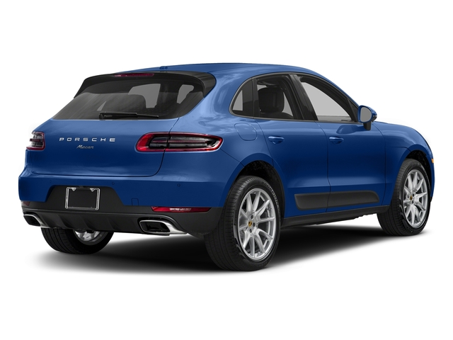 Sapphire Blue Metallic 2018 Porsche Macan Pictures Macan AWD photos rear view