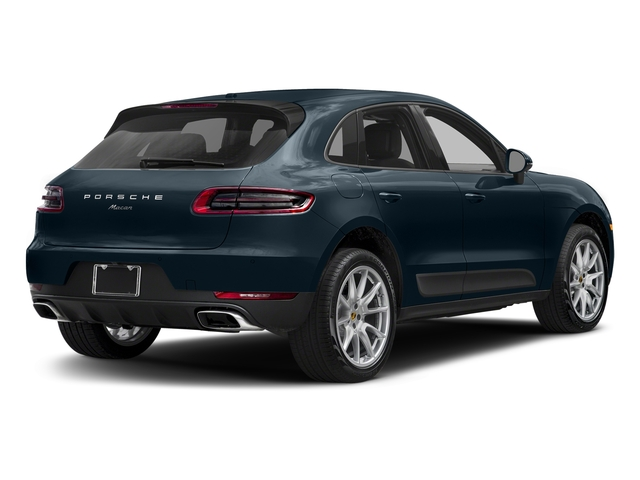 Night Blue Metallic 2018 Porsche Macan Pictures Macan AWD photos rear view