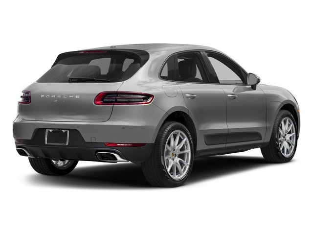 Rhodium Silver Metallic 2018 Porsche Macan Pictures Macan AWD photos rear view