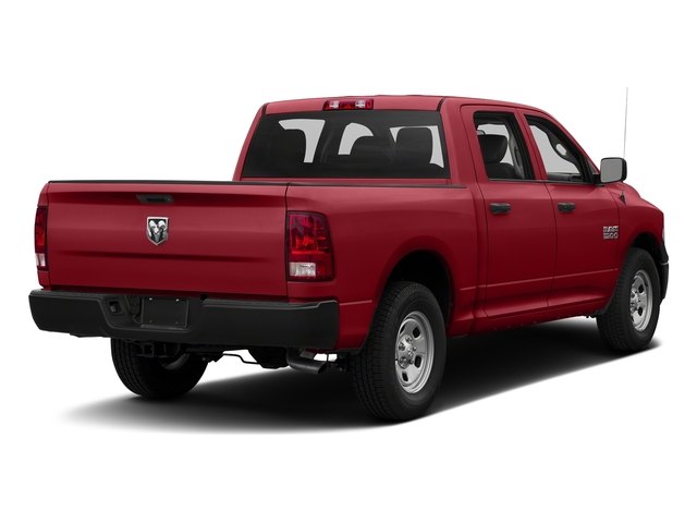 Flame Red Clearcoat 2018 Ram Truck 1500 Pictures 1500 Tradesman 4x4 Crew Cab 5'7 Box photos rear view