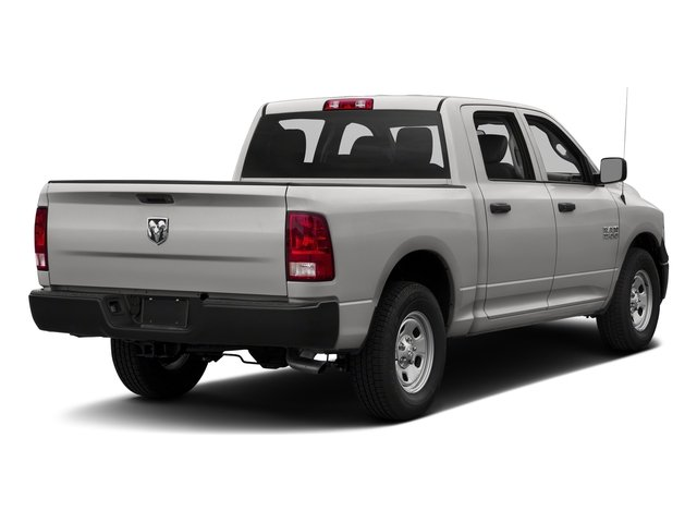 Bright Silver Metallic Clearcoat 2018 Ram Truck 1500 Pictures 1500 Tradesman 4x4 Crew Cab 5'7 Box photos rear view