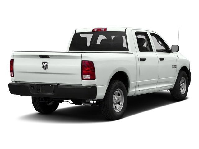 Bright White Clearcoat 2018 Ram Truck 1500 Pictures 1500 Tradesman 4x4 Crew Cab 5'7 Box photos rear view