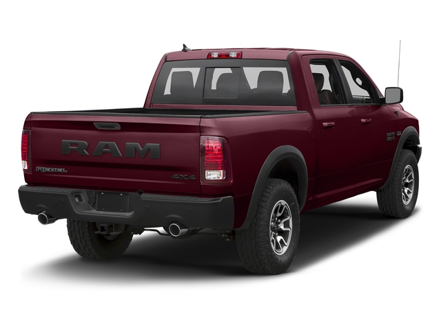 Delmonico Red Pearlcoat 2018 Ram Truck 1500 Pictures 1500 Rebel 4x4 Crew Cab 5'7 Box photos rear view
