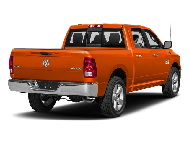 Omaha Orange 2018 Ram Truck 1500 Pictures 1500 SLT 4x4 Crew Cab 5'7 Box photos rear view