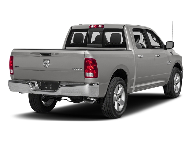 Bright Silver Metallic Clearcoat 2018 Ram Truck 1500 Pictures 1500 SLT 4x4 Crew Cab 5'7 Box photos rear view
