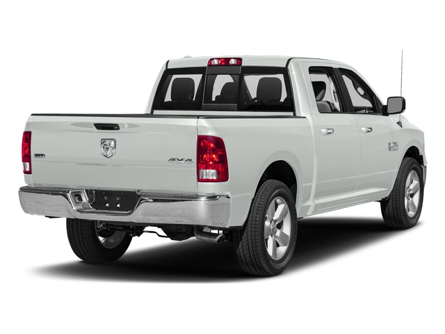Bright White Clearcoat 2018 Ram Truck 1500 Pictures 1500 SLT 4x4 Crew Cab 5'7 Box photos rear view