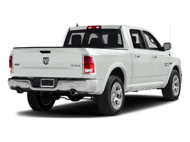 Bright White Clearcoat 2018 Ram Truck 1500 Pictures 1500 Laramie 4x2 Crew Cab 5'7 Box photos rear view