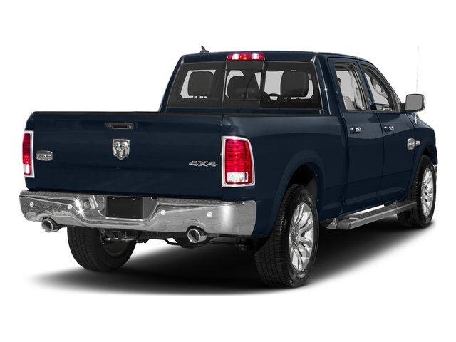 True Blue Pearlcoat 2018 Ram Truck 1500 Pictures 1500 Longhorn 4x2 Crew Cab 5'7 Box *Ltd Avail* photos rear view