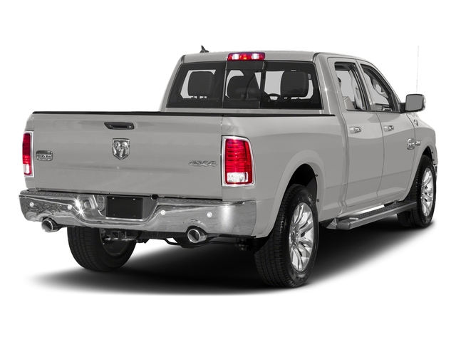 Bright Silver Metallic Clearcoat 2018 Ram Truck 1500 Pictures 1500 Longhorn 4x2 Crew Cab 5'7 Box *Ltd Avail* photos rear view