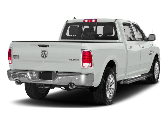 Bright White Clearcoat 2018 Ram Truck 1500 Pictures 1500 Longhorn 4x2 Crew Cab 5'7 Box *Ltd Avail* photos rear view