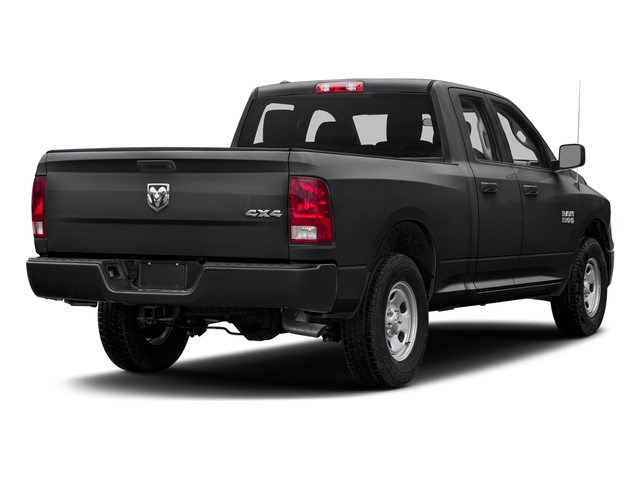 Granite Crystal Metallic Clearcoat 2018 Ram Truck 1500 Pictures 1500 Express 4x4 Quad Cab 6'4 Box photos rear view