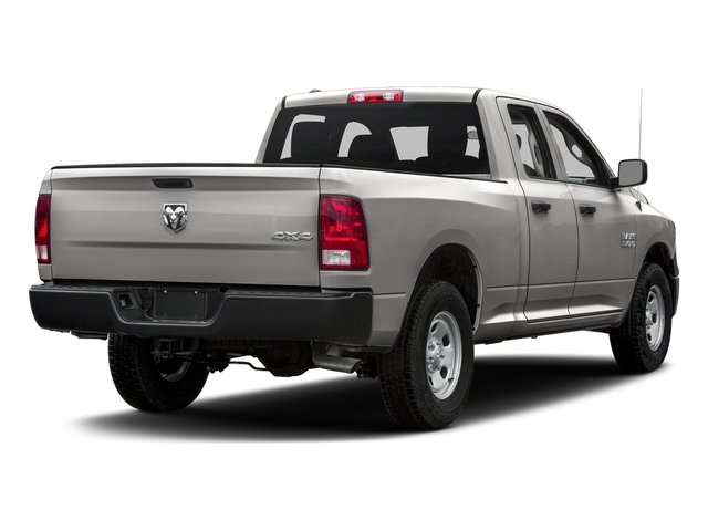 Bright Silver Metallic Clearcoat 2018 Ram Truck 1500 Pictures 1500 Express 4x4 Quad Cab 6'4 Box photos rear view