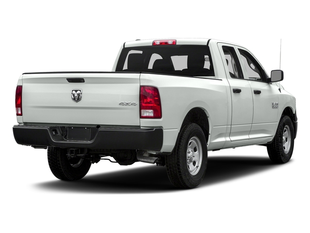 Bright White Clearcoat 2018 Ram Truck 1500 Pictures 1500 Express 4x4 Quad Cab 6'4 Box photos rear view