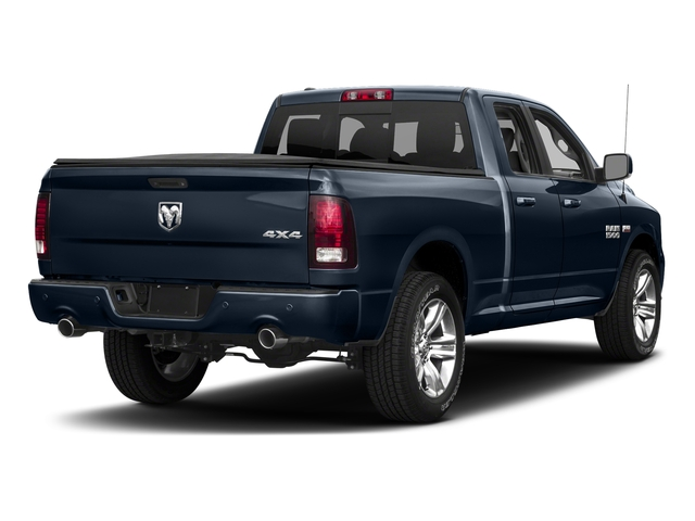True Blue Pearlcoat 2018 Ram Truck 1500 Pictures 1500 Sport 4x4 Quad Cab 6'4 Box *Ltd Avail* photos rear view