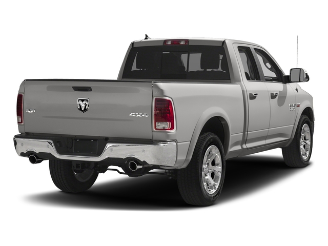 Bright Silver Metallic Clearcoat 2018 Ram Truck 1500 Pictures 1500 Laramie 4x2 Quad Cab 6'4 Box photos rear view