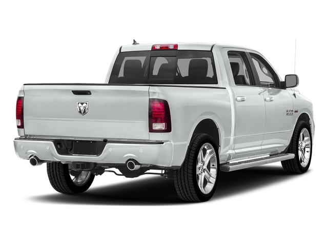 Bright White Clearcoat 2018 Ram Truck 1500 Pictures 1500 Night 4x4 Crew Cab 6'4 Box *Ltd Avail* photos rear view