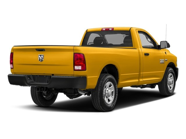 Construction Yellow 2018 Ram Truck 2500 Pictures 2500 SLT 4x4 Reg Cab 8' Box photos rear view
