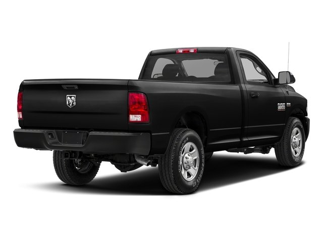 Brilliant Black Crystal Pearlcoat 2018 Ram Truck 2500 Pictures 2500 SLT 4x4 Reg Cab 8' Box photos rear view
