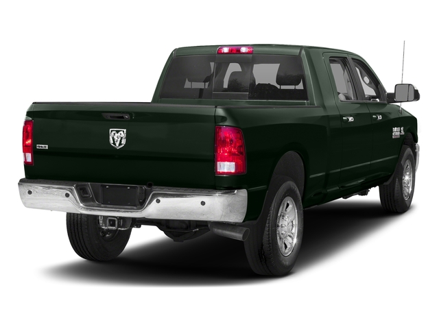 Black Forest Green Pearlcoat 2018 Ram Truck 2500 Pictures 2500 SLT 4x4 Mega Cab 6'4 Box photos rear view