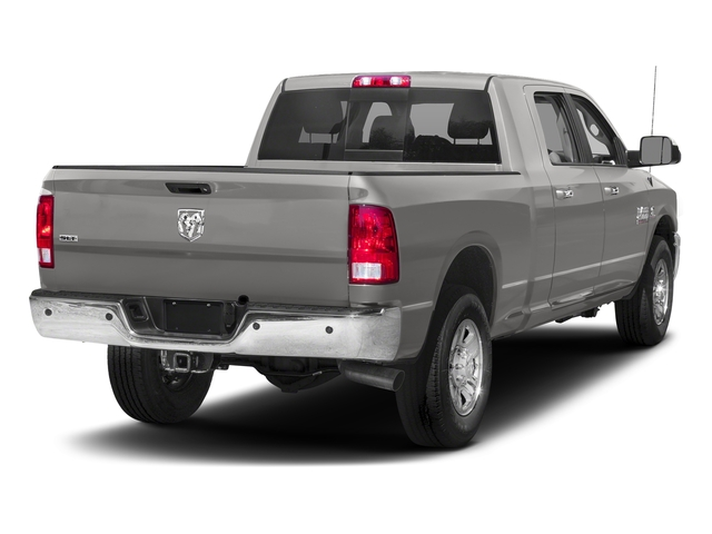 Bright Silver Metallic Clearcoat 2018 Ram Truck 2500 Pictures 2500 SLT 4x4 Mega Cab 6'4 Box photos rear view