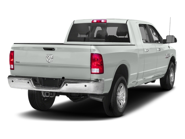 Bright White Clearcoat 2018 Ram Truck 2500 Pictures 2500 SLT 4x4 Mega Cab 6'4 Box photos rear view