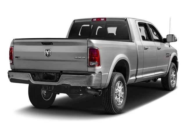 Bright Silver Metallic Clearcoat 2018 Ram Truck 2500 Pictures 2500 Laramie 4x4 Mega Cab 6'4 Box photos rear view