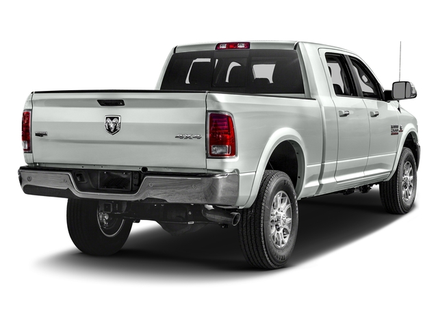 Bright White Clearcoat 2018 Ram Truck 2500 Pictures 2500 Laramie 4x4 Mega Cab 6'4 Box photos rear view