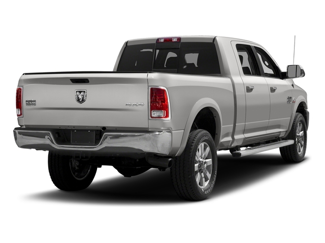 Bright Silver Metallic Clearcoat 2018 Ram Truck 2500 Pictures 2500 Limited 4x2 Mega Cab 6'4 Box photos rear view