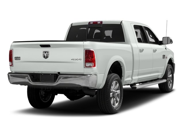 Bright White Clearcoat 2018 Ram Truck 2500 Pictures 2500 Limited 4x2 Mega Cab 6'4 Box photos rear view