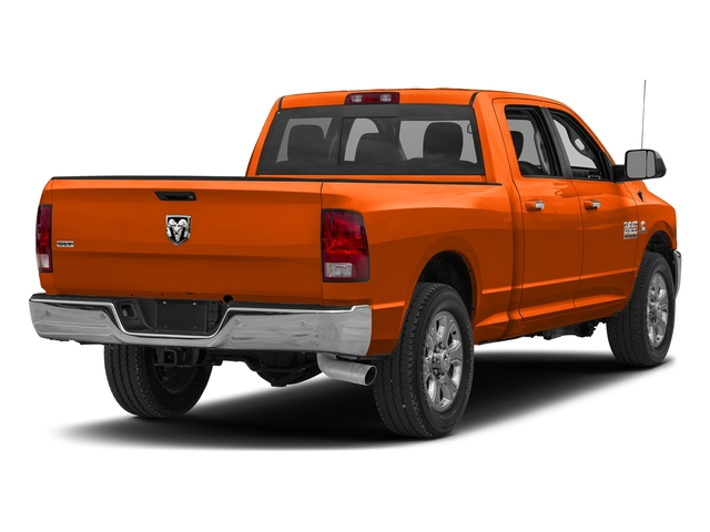 Omaha Orange 2018 Ram Truck 2500 Pictures 2500 Big Horn 4x2 Crew Cab 6'4 Box photos rear view