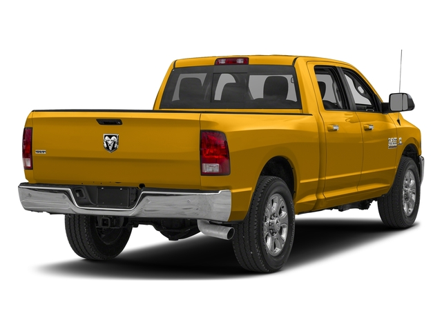 Construction Yellow 2018 Ram Truck 2500 Pictures 2500 Big Horn 4x2 Crew Cab 6'4 Box photos rear view