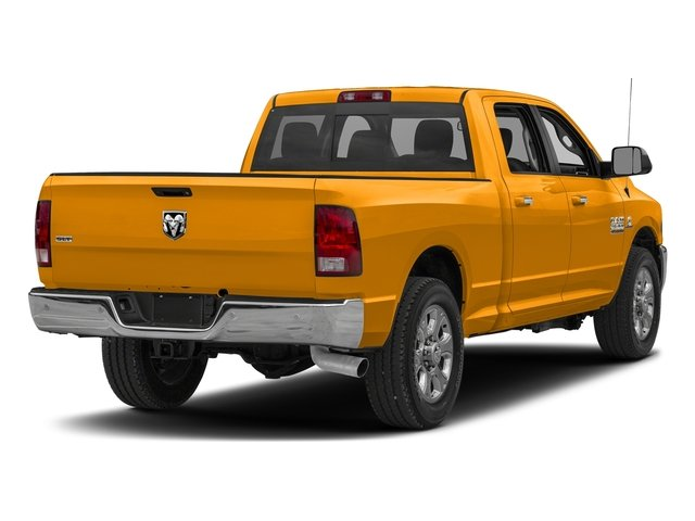 School Bus Yellow 2018 Ram Truck 2500 Pictures 2500 SLT 4x2 Crew Cab 6'4 Box photos rear view