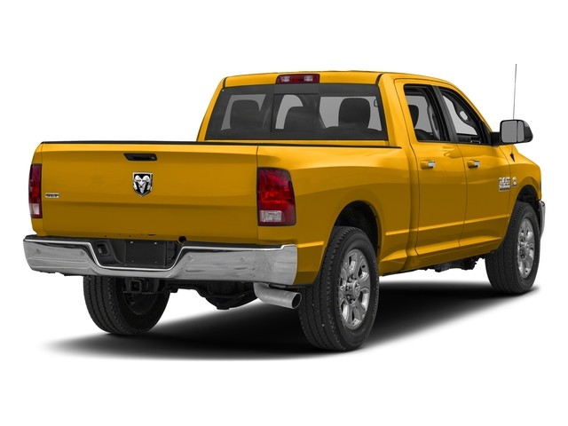 Detonator Yellow Clearcoat 2018 Ram Truck 2500 Pictures 2500 SLT 4x2 Crew Cab 6'4 Box photos rear view