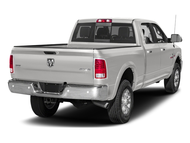 Bright Silver Metallic Clearcoat 2018 Ram Truck 2500 Pictures 2500 Laramie 4x2 Crew Cab 6'4 Box photos rear view