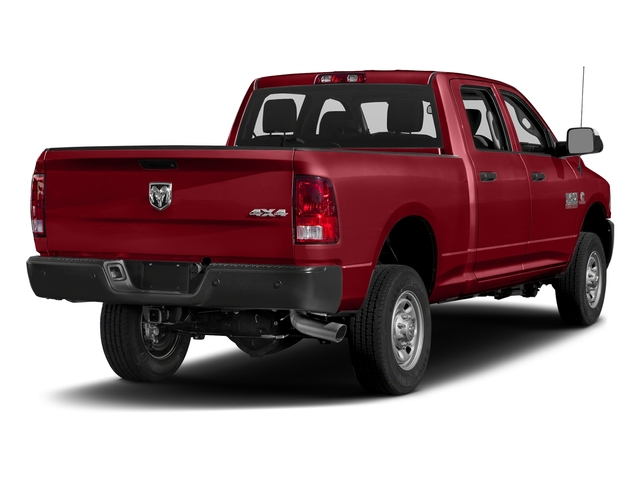 Flame Red Clearcoat 2018 Ram Truck 2500 Pictures 2500 Tradesman 4x4 Crew Cab 8' Box photos rear view