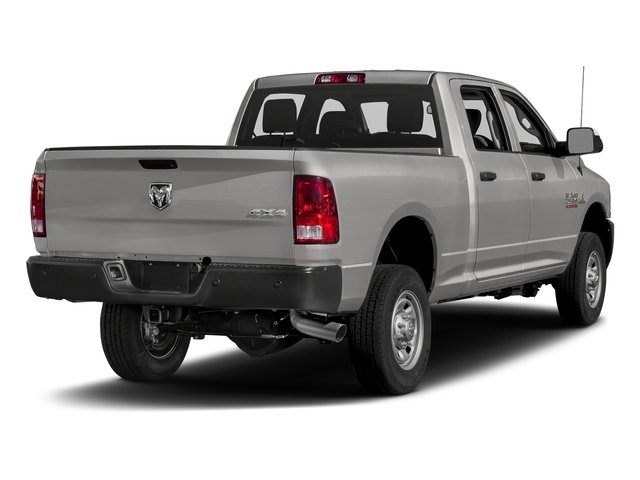 Bright Silver Metallic Clearcoat 2018 Ram Truck 2500 Pictures 2500 Tradesman 4x4 Crew Cab 8' Box photos rear view