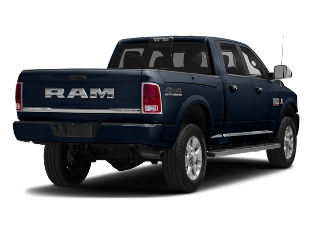 True Blue Pearlcoat 2018 Ram Truck 2500 Pictures 2500 Laramie Longhorn 4x2 Crew Cab 8' Box photos rear view