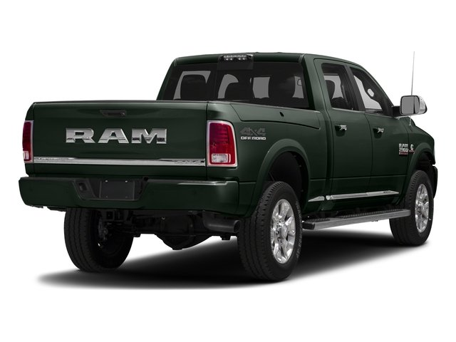 Black Forest Green Pearlcoat 2018 Ram Truck 2500 Pictures 2500 Laramie Longhorn 4x2 Crew Cab 8' Box photos rear view