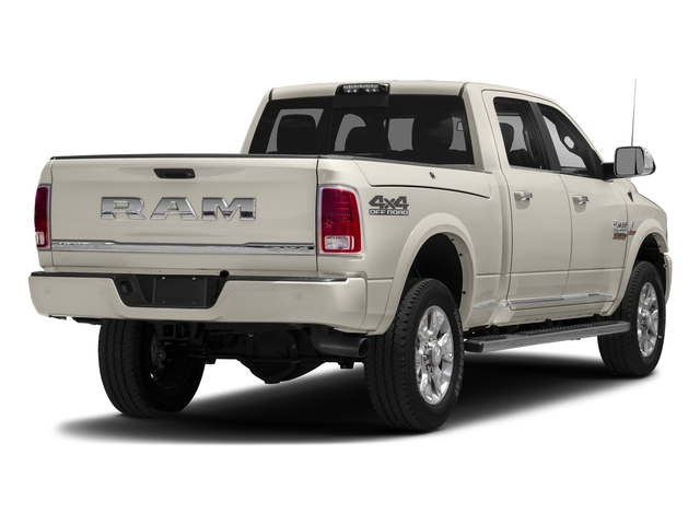 Pearl White 2018 Ram Truck 2500 Pictures 2500 Laramie Longhorn 4x2 Crew Cab 8' Box photos rear view