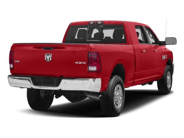 Bright Red 2018 Ram Truck 3500 Pictures 3500 Mega Cab Bighorn/Lone Star 2WD photos rear view