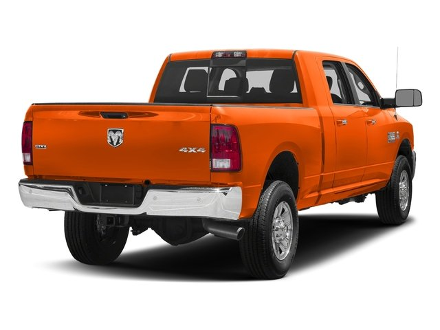 Omaha Orange 2018 Ram Truck 3500 Pictures 3500 Mega Cab Bighorn/Lone Star 2WD photos rear view