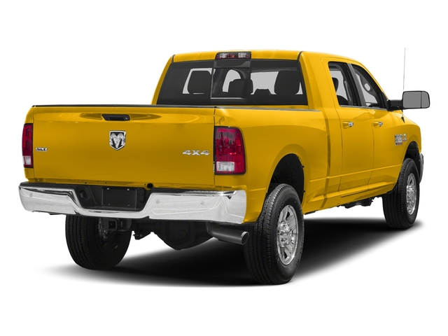 Yellow 2018 Ram Truck 3500 Pictures 3500 Mega Cab Bighorn/Lone Star 2WD photos rear view