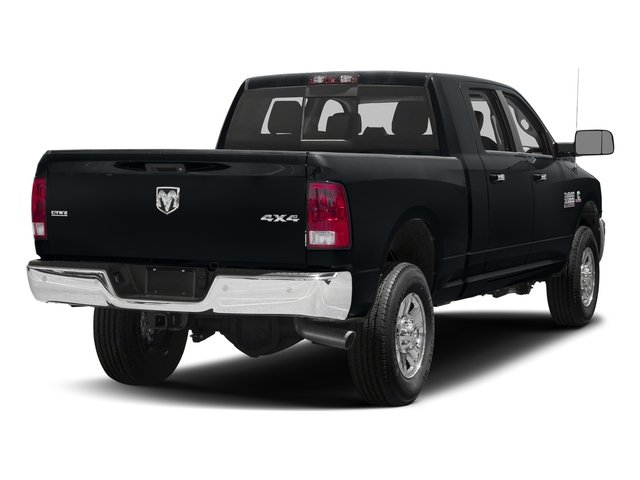 Maximum Steel Metallic Clearcoat 2018 Ram Truck 3500 Pictures 3500 Mega Cab Bighorn/Lone Star 2WD photos rear view