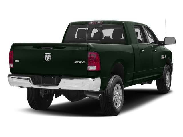 Black Forest Green Pearlcoat 2018 Ram Truck 3500 Pictures 3500 Mega Cab Bighorn/Lone Star 2WD photos rear view