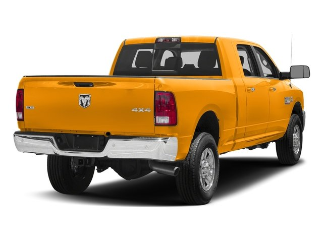 School Bus Yellow 2018 Ram Truck 3500 Pictures 3500 Mega Cab Bighorn/Lone Star 2WD photos rear view